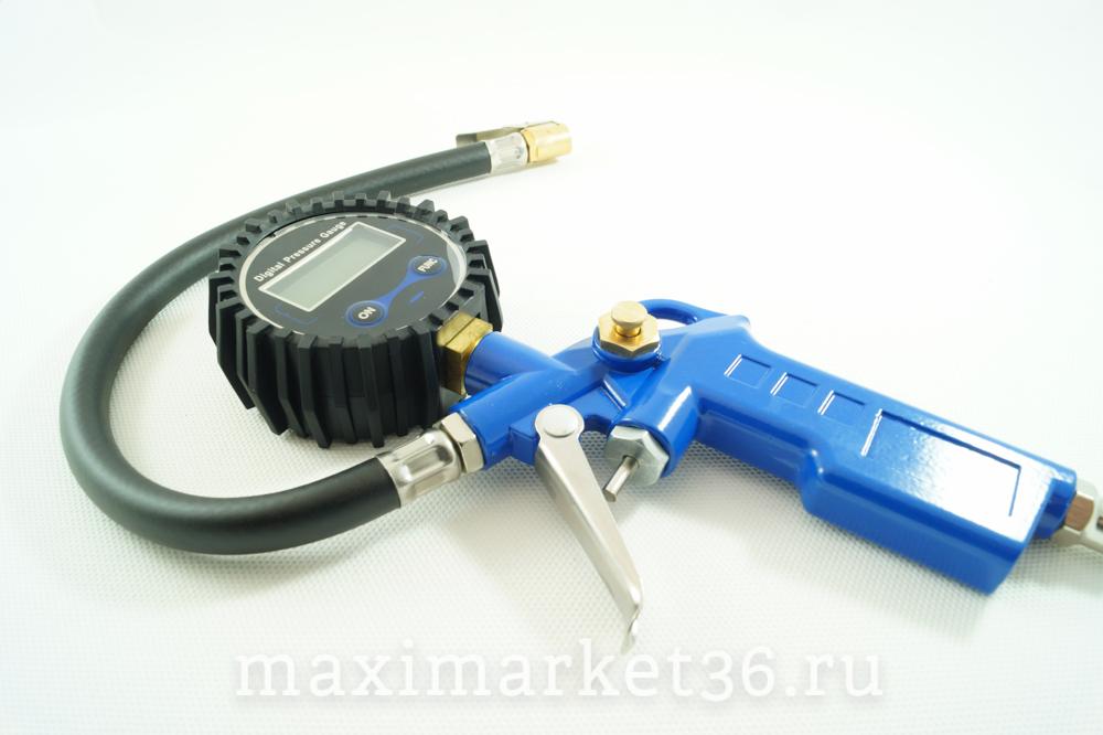 Пистолет подкачки шин с электронным манометром DG-004 МА м032