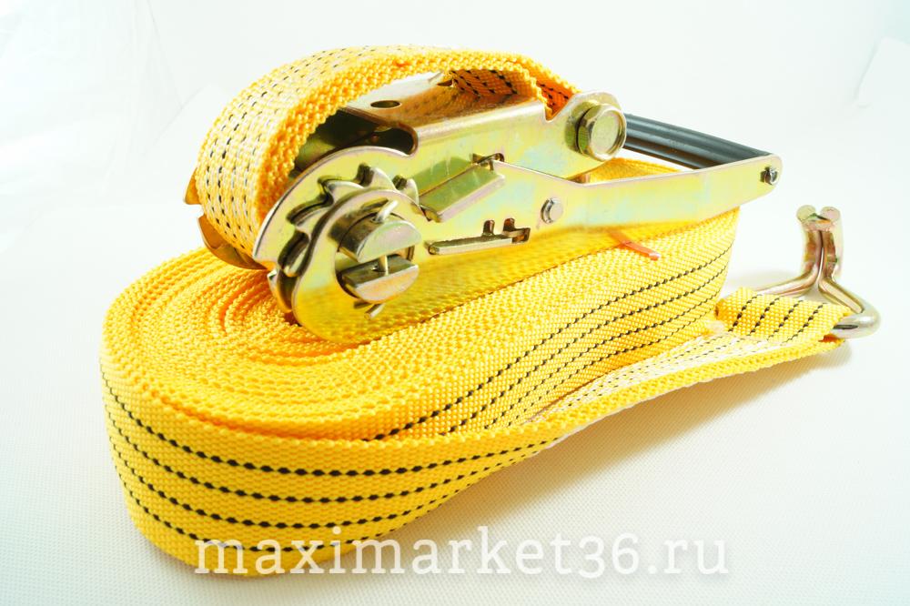 Стяжка груза 12 метров (жёлтые) (20) РОСТ 5т