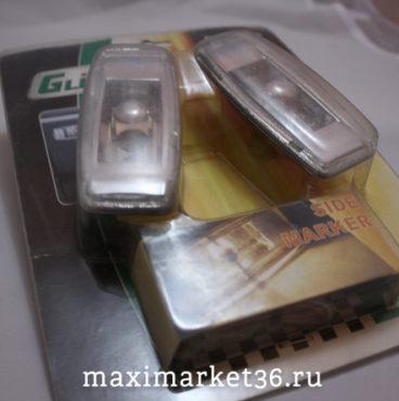 Повторитель поворота GT-50546 CHROME универсальный с лампами WY5W (2шт) 12V GLIPART /1/100
