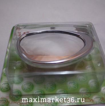 Зеркало в/салонное GT-35529 CHROM мертвой зоны 108х62мм сферическое (кронштейн на боковую стойку) 3R