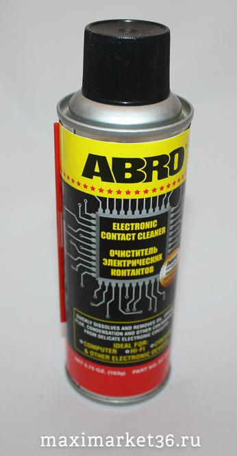 Очиститель электрических контактов ABRO 163 гр ЕС-533 (533ес)