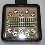 Фара диодная-ходов. огни 34 LED (3W)--102W (КВАДРАТНАЯ) PR-1119