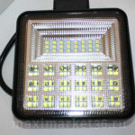 Фара диодная-ходов. огни 42 LED (3W)--126W (КВАДРАТНАЯ) PR-1116 FP-021