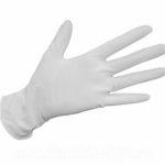 Перчатки ЛАТЕКСНЫЕ, размер L (50 шт/упак)